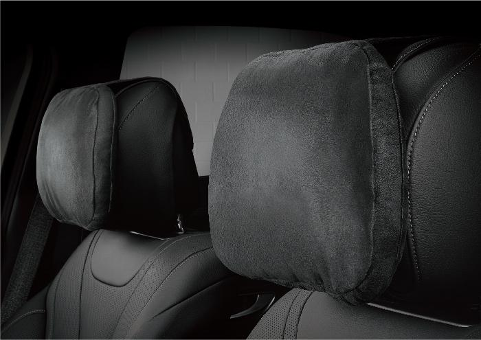 SUEDE HEADREST